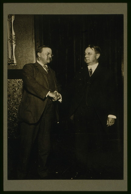 Roosevelt and Johnson after nomination