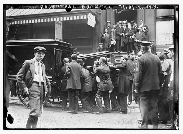 Rosenthal funeral, N.Y.