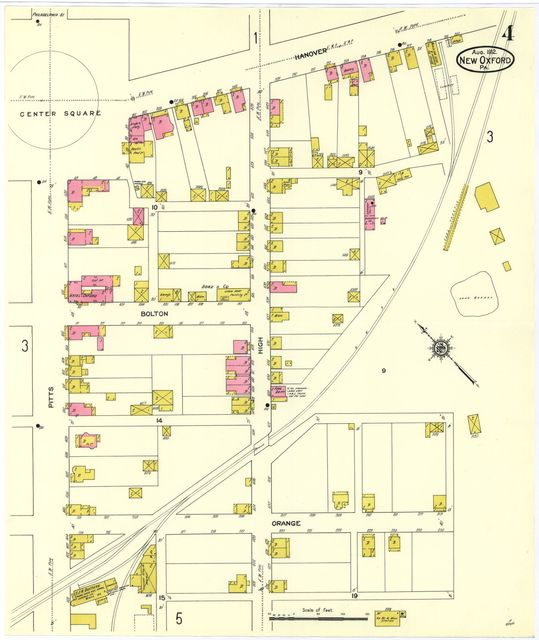 Sanborn Fire Insurance Map from New Oxford, Adams County ... on map of king of prussia pa, map of mahaffey pa, map of narberth pa, map of mount holly springs pa, map of pitman pa, map of mount union pa, map of washington pa, map of franklin township pa, map of lake heritage pa, map of union township pa, map of philadelphia pa, map of hooversville pa, map of media pa, map of mt joy pa, map of mt gretna pa, map of lewis run pa, map of central york pa, map of northumberland pa, map of orrstown pa, map of newry pa,