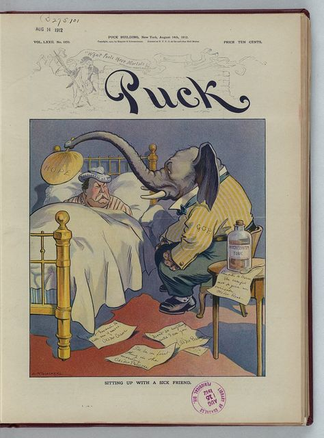 Sitting up with a sick friend / L.M. Glackens.
