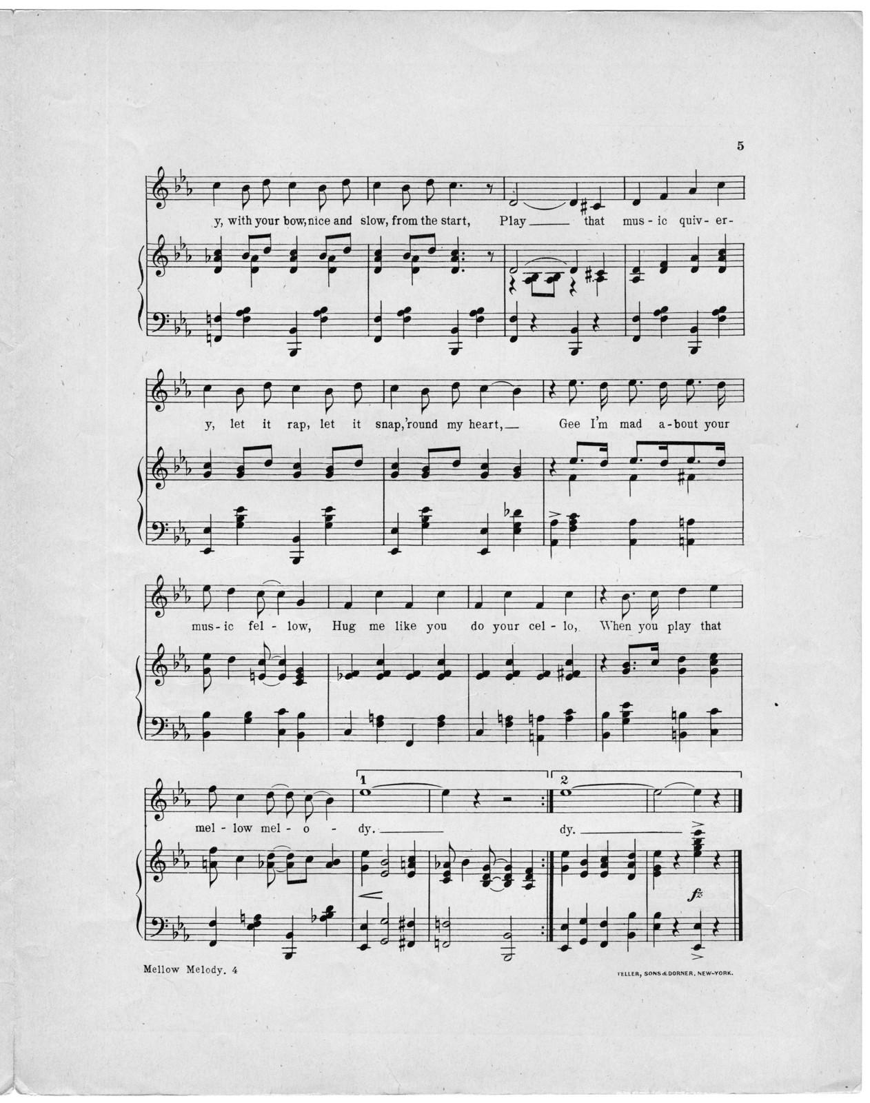 That mellow melody