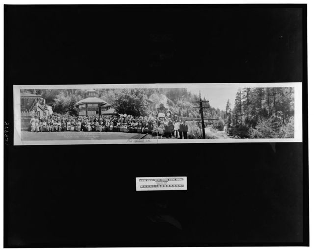 Train De Luxe from New York, en route N.E.L.A. convention at Seattle, 1912, Shasta Springs, Calif., Wagner, Quality