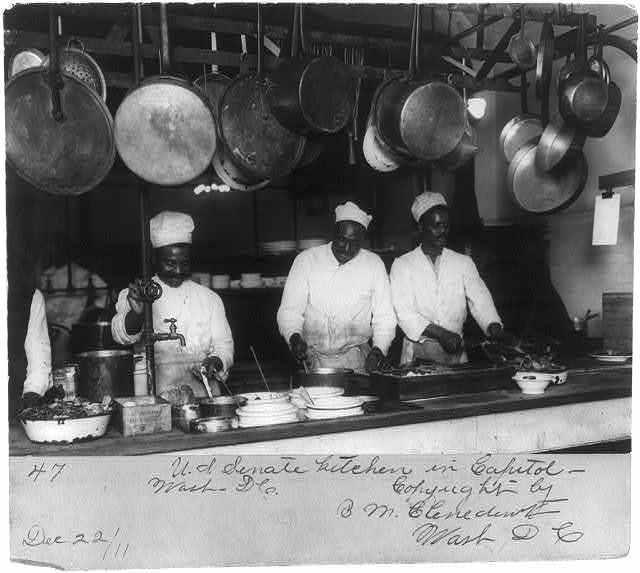 U.S. Senate kitchen in Capitol, Wash., D.C.