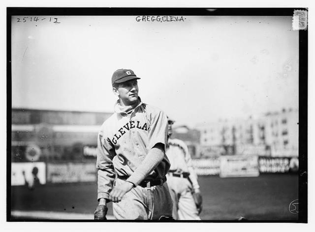 [Vean Gregg, Cleveland AL, at Hilltop Park, NY (baseball)]