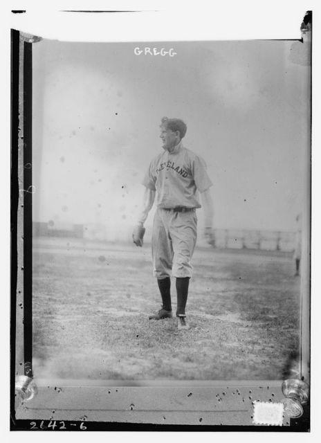 [Vean Gregg, Cleveland AL (baseball)]