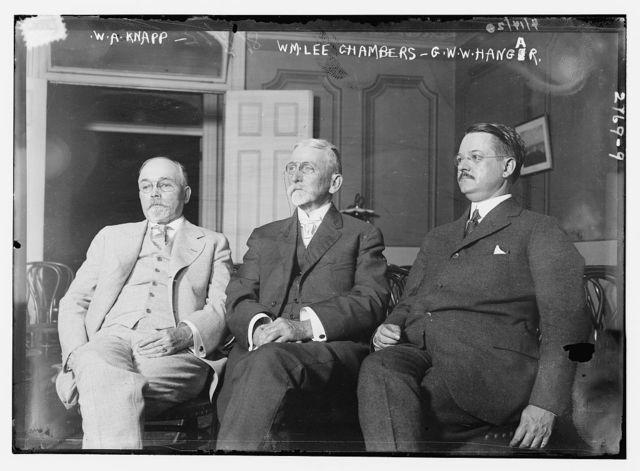 W.A. Knapp, Wm. Lee Chambers, G.W.W.Hangar