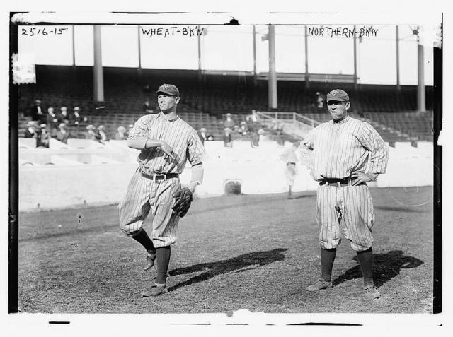 [Zack Wheat & Hub Northen, Brooklyn NL (baseball)]