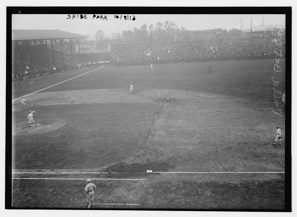 [2nd Game at Shibe Park, Philadelphia - 1913 World Series (baseball)]