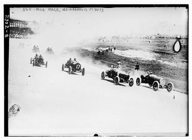 500 mile race, Indianapolis