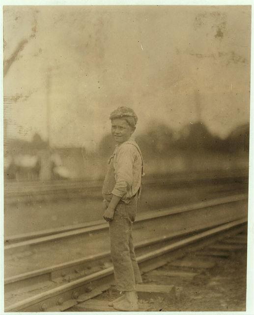 A young sweeper in Conslidated [i.e., Consolidated] Duck Mills, La Grange, Ga.  Location: La Grange, Georgia.