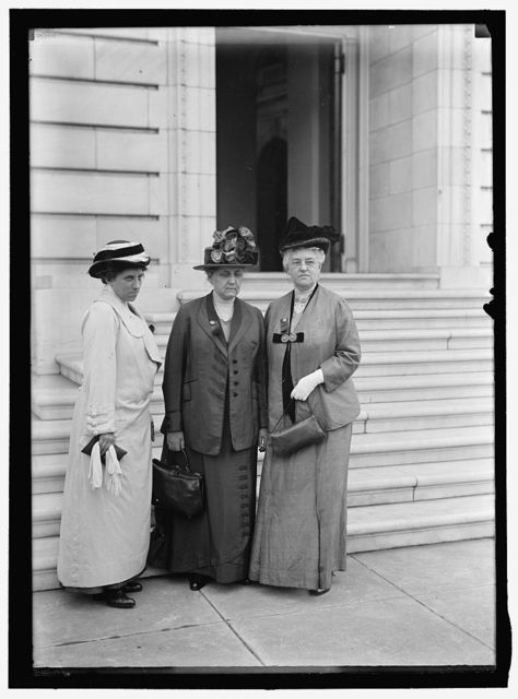 ADDAMS, JANE, WITH JULIA LATHROP, L, AND MARY E. McDOWELL