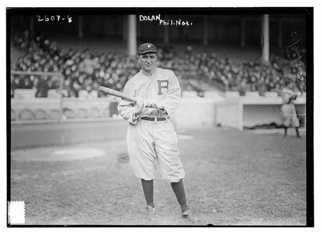 "[Albert ""Cozy"" Dolan, Philadelphia NL, at Polo Grounds, NY (baseball)]"