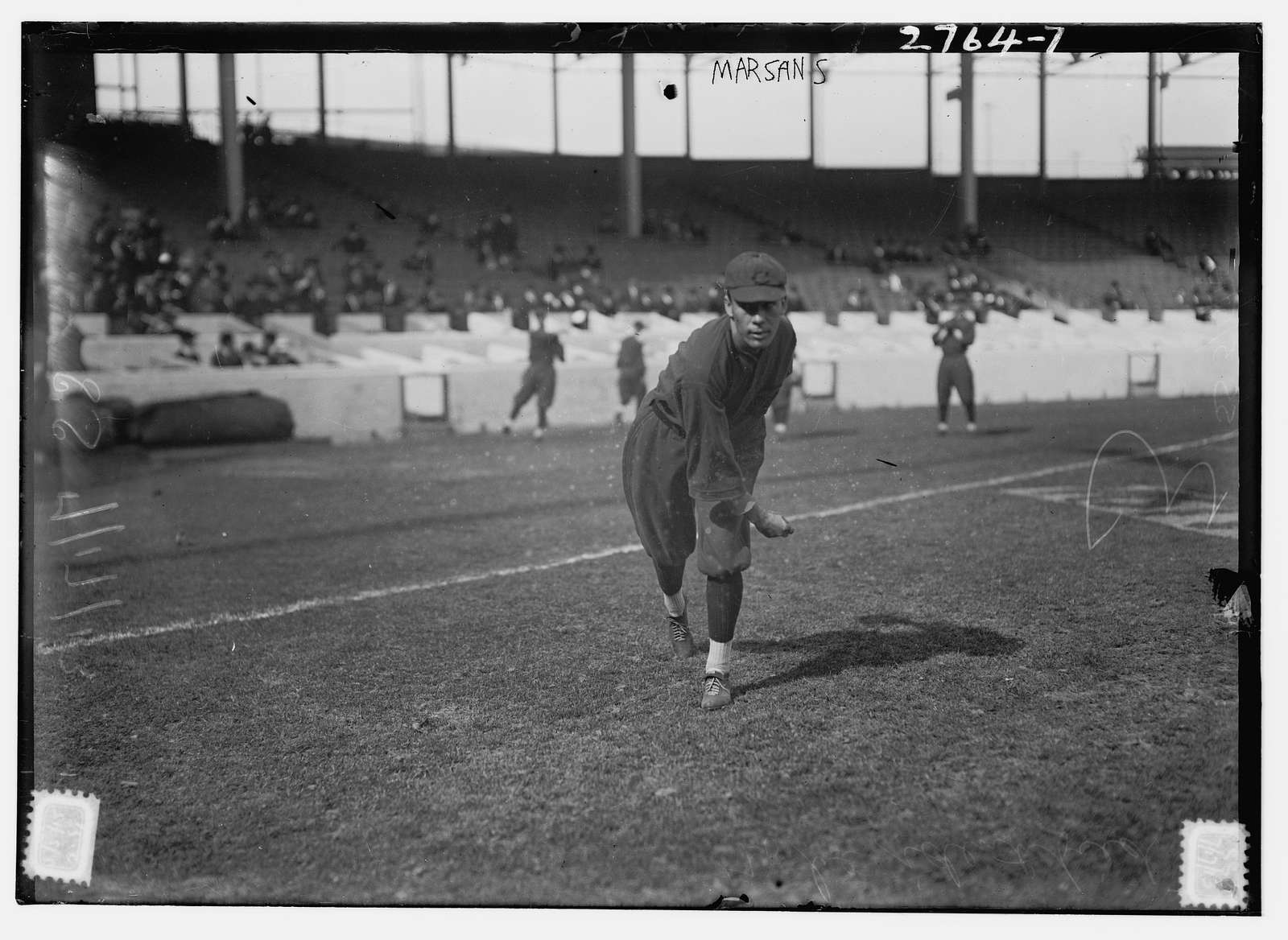 Armando Marsans, Cincinnati NL, at Polo Grounds, NY (baseball)