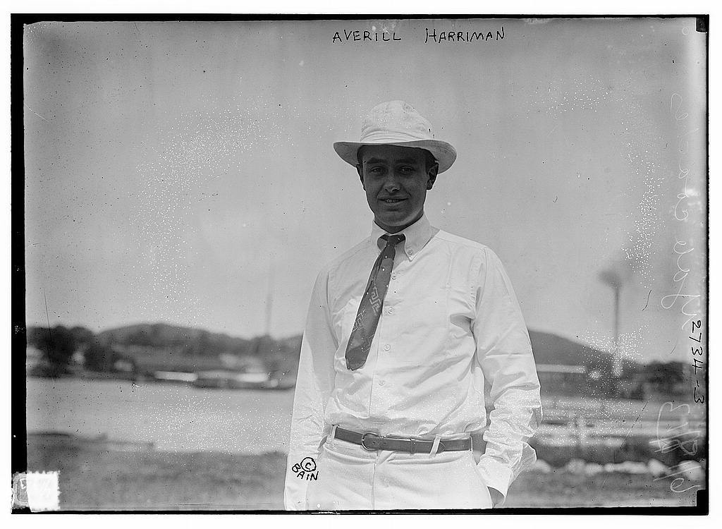 Averill [i.e. W. Averell] Harriman