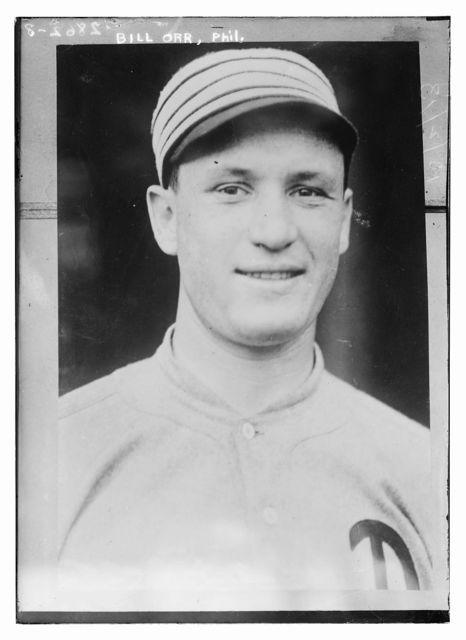 [Bill Orr, Philadelphia, AL (baseball)]