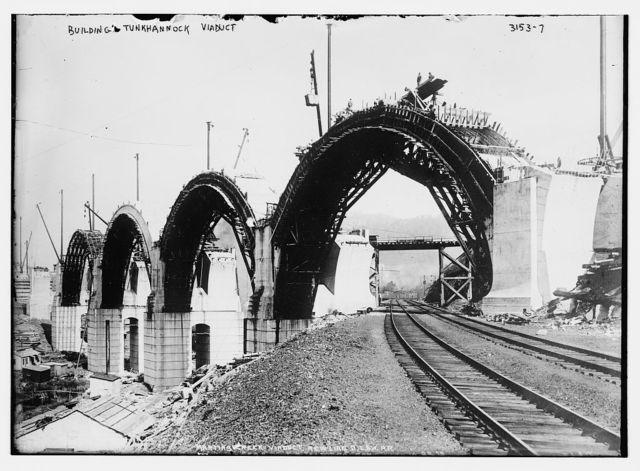 Bldg.[i.e., Building] Tunkhannock Viaduct [Martin's Creek Viaduct]