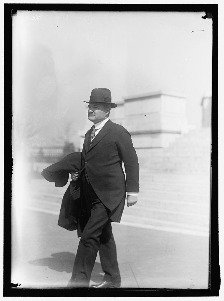 CALDER, WILLIAM MUSGRAVE. REP. FROM NEW YORK, 1905-1915; SENATOR, 1917-1923