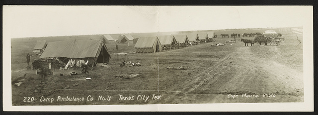 Camp Ambulance Co. No. 3, Texas City, Tex.