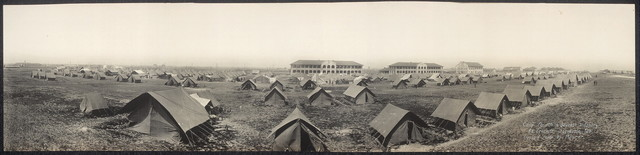 Camp, Fourth & Seventh Infantry, Ft. Crockett, Galveston, Tex.