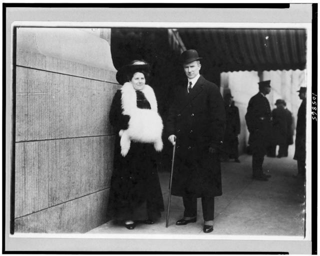 [Capt. Rostron, of the Carpathia, and his wife]