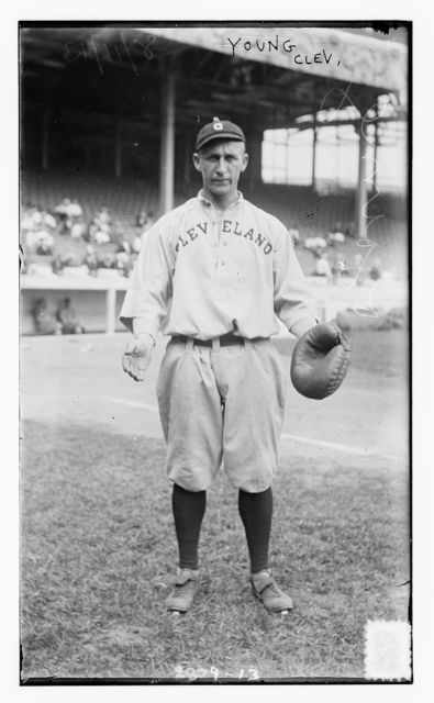 [Catcher George J. Young, Cleveland AL (baseball)]