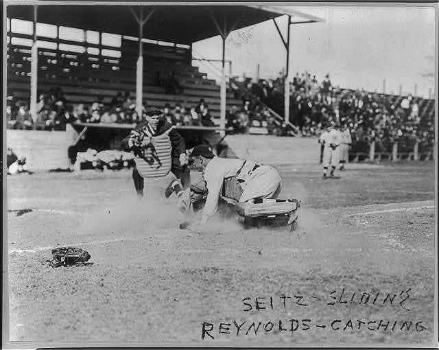 [Charles Seitz, second baseman, Houston and Bill Reynolds, catcher, New York AL, 1914 (baseball)]