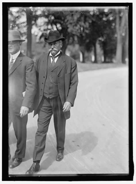 CLEMENTS, JUDSON CLAUDIUS. REP. FROM GEORGIA, 1881-1891; CHAIRMAN, I.C.C., 1911-1917. SNAP