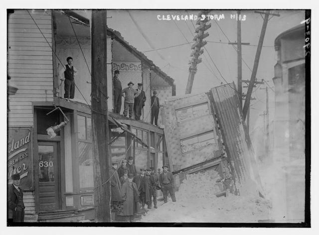 Cleveland storm damage, 11/13