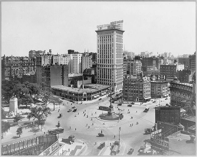 Columbus Circle, New York City: [Looking South]