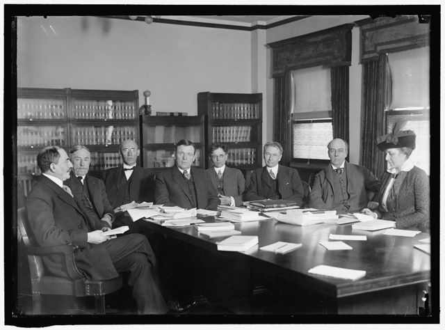 COMMISSION ON INDUSTRIAL RELATIONS. WEINSTOCK; LENNON; GARRETSON; WALSH, CHAIRMAN; COMMONS; BALLARD; DELANO; MRS. HARRIMAN