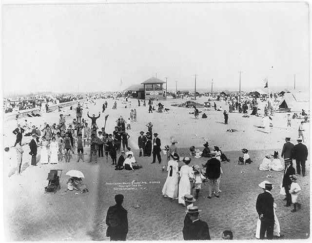 Coney Island Beach and Surf Ave.