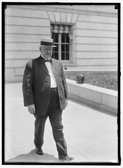 CULLOP, WILLIAM ALLEN. REP. FROM INDIANA, 1909-1917