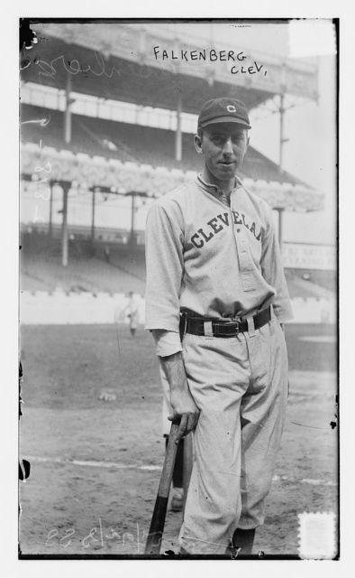 [Cy Falkenberg, Cleveland AL, at Polo Grounds, NY (baseball)]