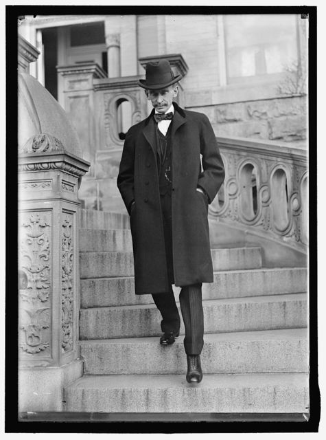 DAY, WILLIAM RUFUS. SECRETARY OF STATE, 1898; ASSOCIATE JUSTICE OF SUPREME COURT, 1902-1922