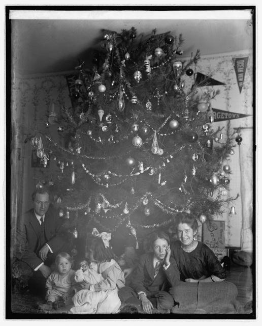 Dickey Christmas tree, 1913