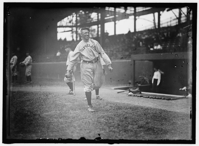 [Doc Johnston, Cleveland, AL, at National Park, Washington, D.C. (baseball)]