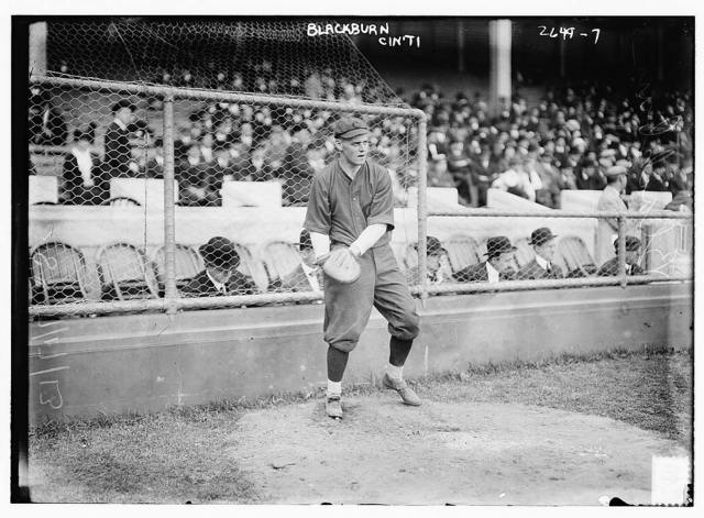 [Earl Blackburn, Cincinnati NL (baseball)]