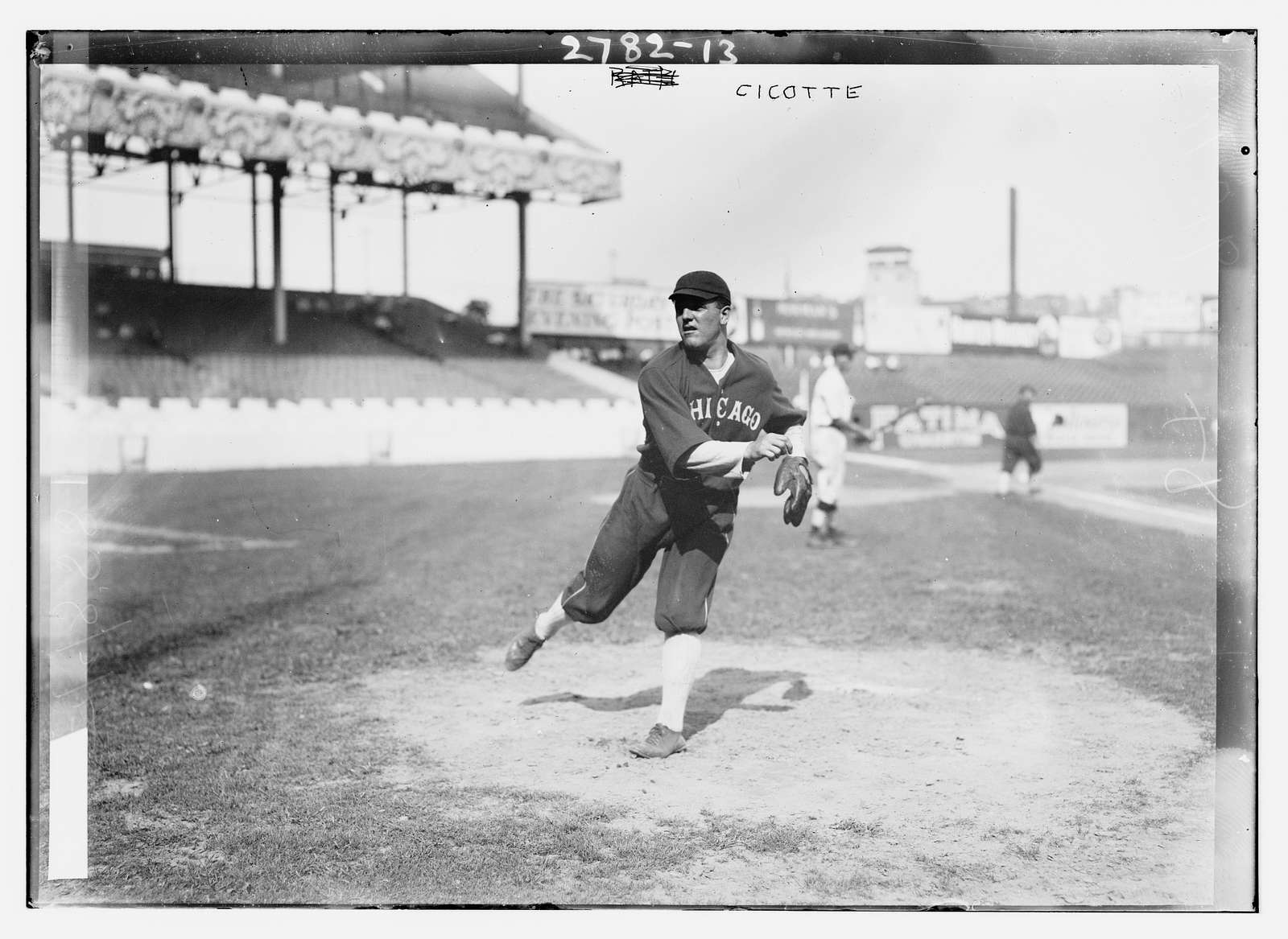 Eddie Cicotte, Chicago AL, at Polo Grounds, NY (baseball)
