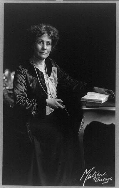 Emmeline (Goulden) Pankhurst, 1858-1929