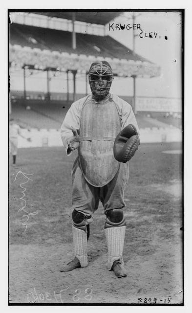 [Ernie Krueger, Cleveland AL, at Polo Grounds, NY (baseball)]