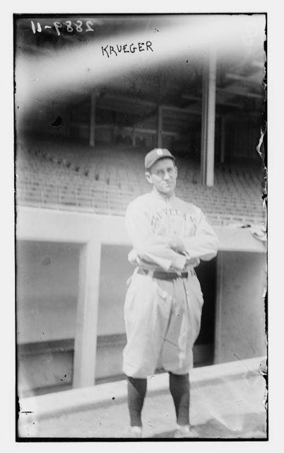 [Ernie Krueger, Cleveland AL (baseball)]