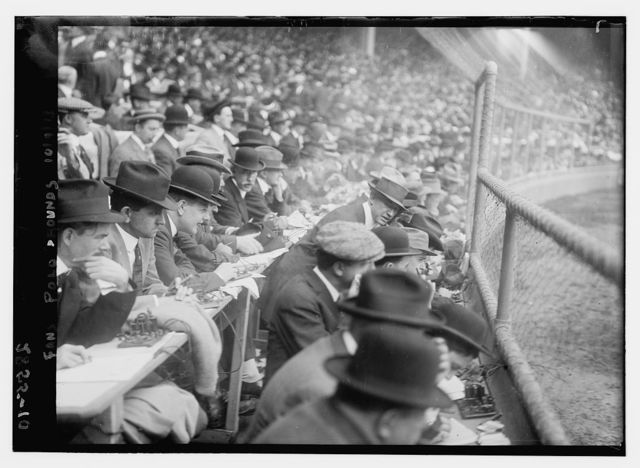 Fans, Polo Grounds