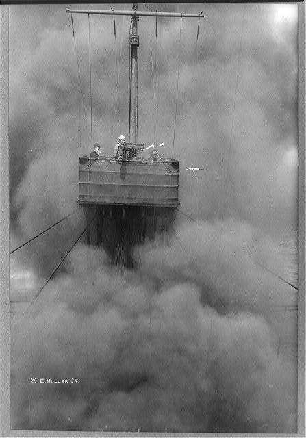 Fire control mast