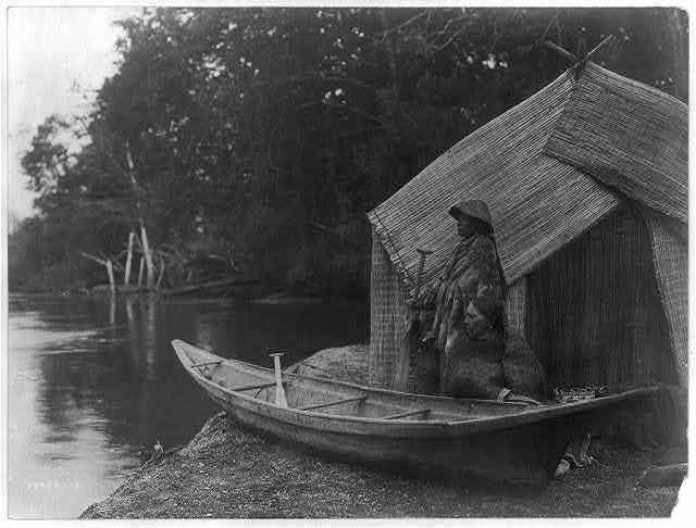 Fishing camp--Skokomish