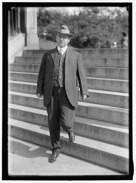 FOLK, JOSEPH WINGATE GOVERNOR OF MISSOURI, 1905-1909; SOLICITOR OF STATE DEPARTMENT, 1913
