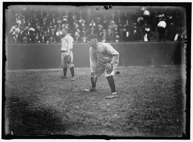 [Fred Blanding, Cleveland AL, at National Park, Washington, D.C. (baseball)]