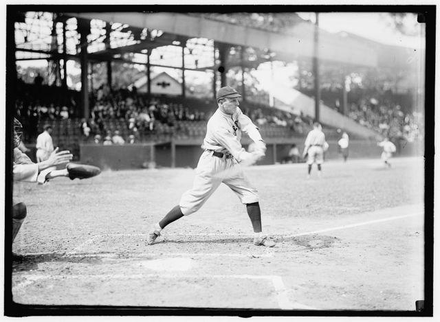 [Fred Carisch, Cleveland AL, at National Park, Washington, D.C. (baseball)]