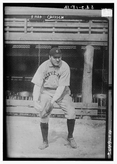[Fred Carisch, Cleveland AL (baseball)]