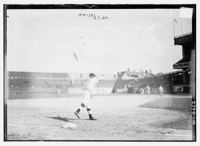 [Fritz Maisel, New York AL, at Polo Grounds, NY (baseball)]