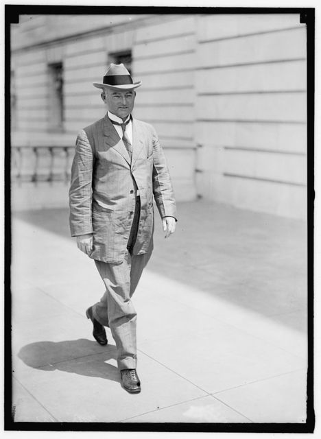 GARNER, JOHN NANCE. REP. FROM TEXAS, 1903-1933. VICE PRESIDENT OF THE U.S., 1933-1941
